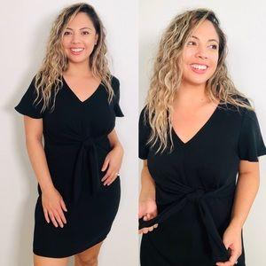 Little Black Bow Dress